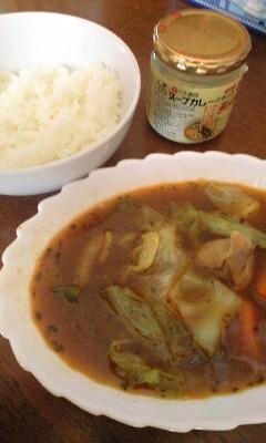 【食】ベル食堂「スープカレーの素」